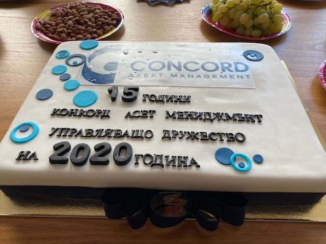 15 години Конкорд Асет Мениджмънт
